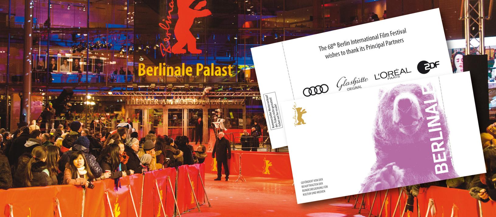 Beckerbillett Berlinale Ticket 2018